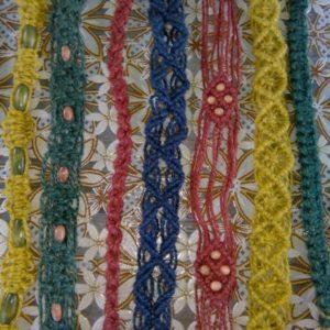Пояса, очелья, сумочки из джута от Татьяны Горбачевой