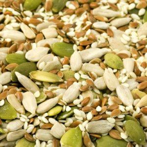 Семена, жмых
