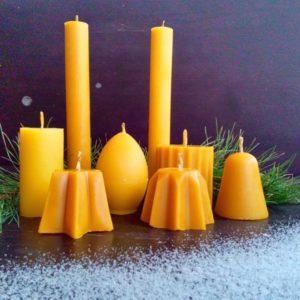 Восковые свечи ручной работы